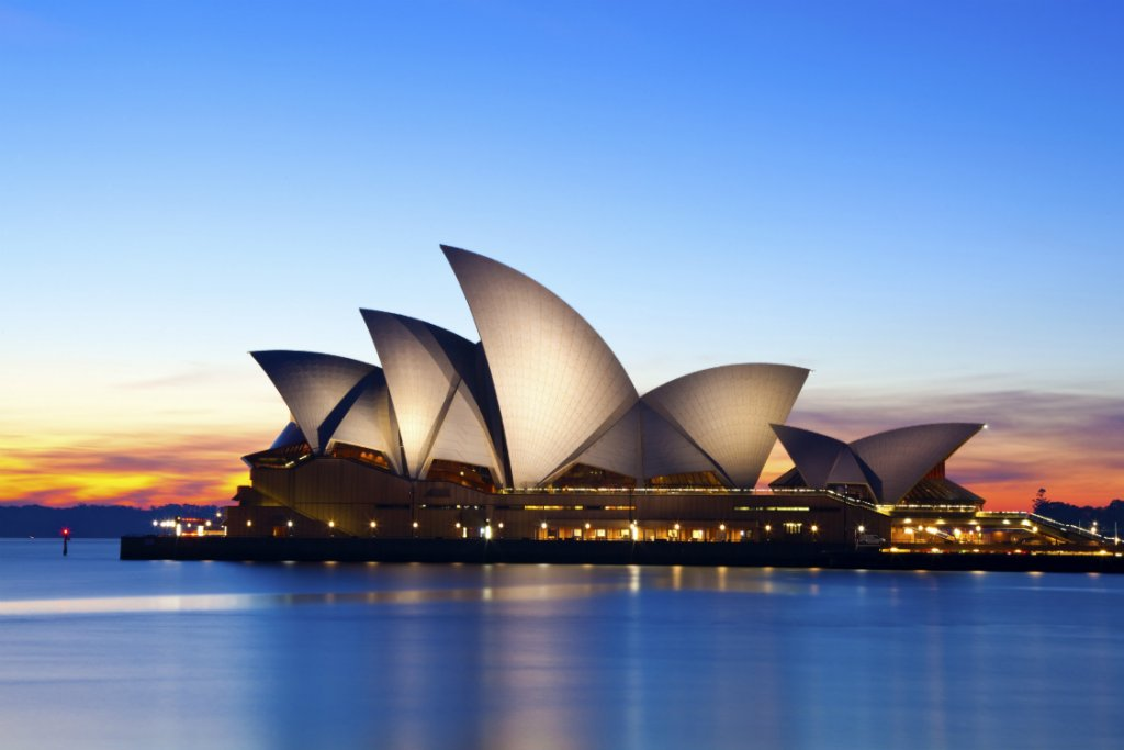 Sydney Opera House. best Honeymoon destinations Australia