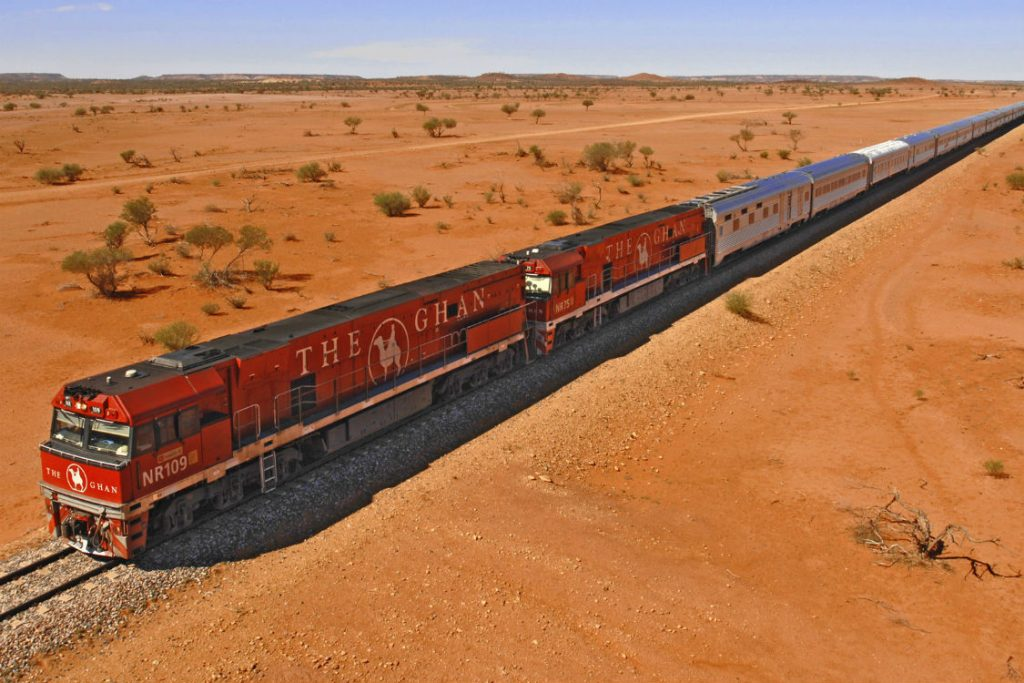 the ghan transport in australia