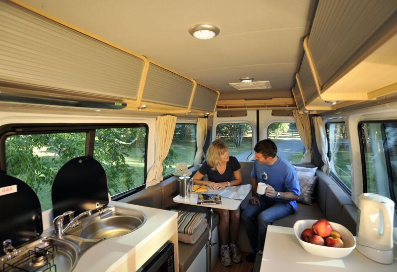 Travelling with a motorhome in Australia