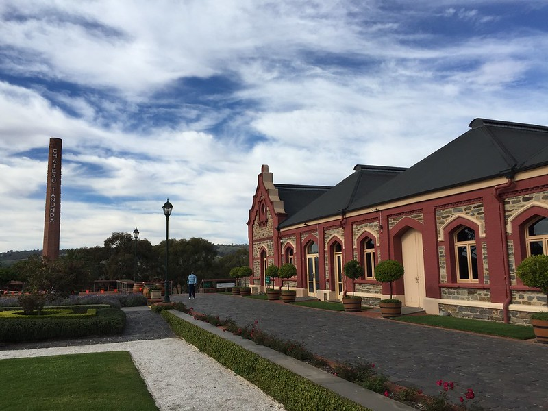 Chateau Tanunda Winery.
