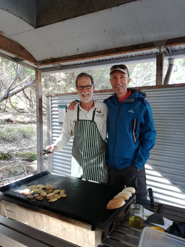 key kangaroo island nature experiences - lunch with Ken