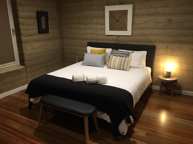 Kangaroo Island Accommodation Options - Ecopia Retreat interior