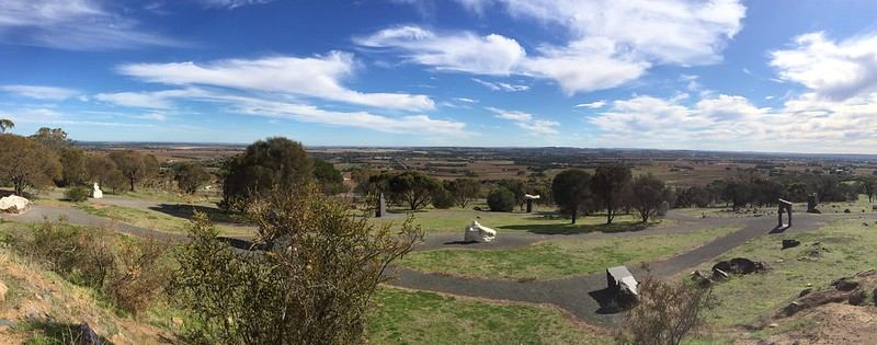 Visiting the Barossa Valley - Mengler Hill Lookout Sculpture Park
