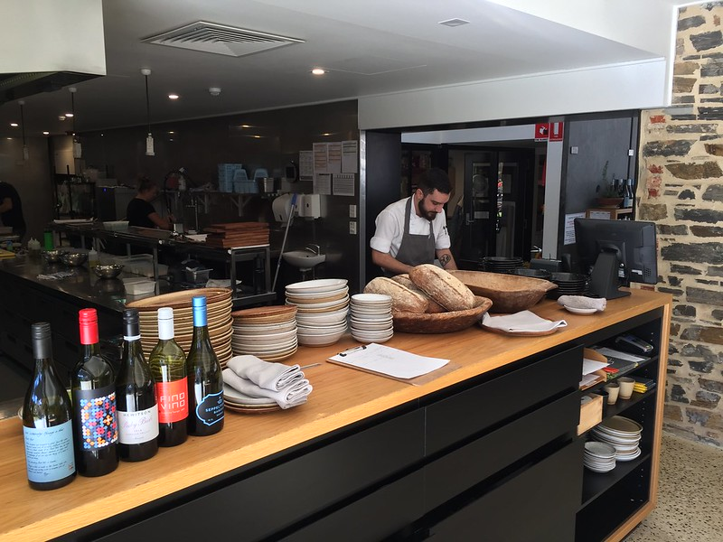 Visiting the Barossa Valley - lunch at Seppeltsfield winery restaurant