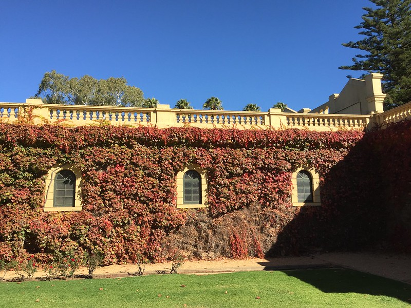 Visiting the Barossa Valley - Seppeltsfield Winery