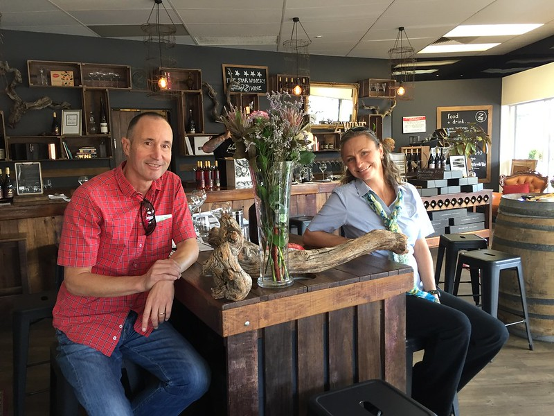 Michael with Wendy of Barossa Boutique Wine Tours