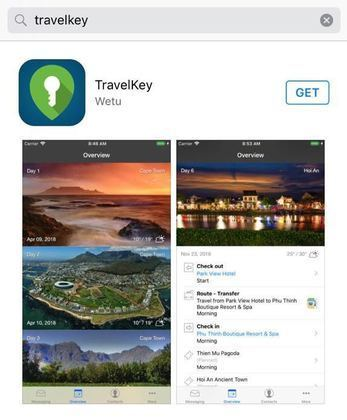 digital travel app