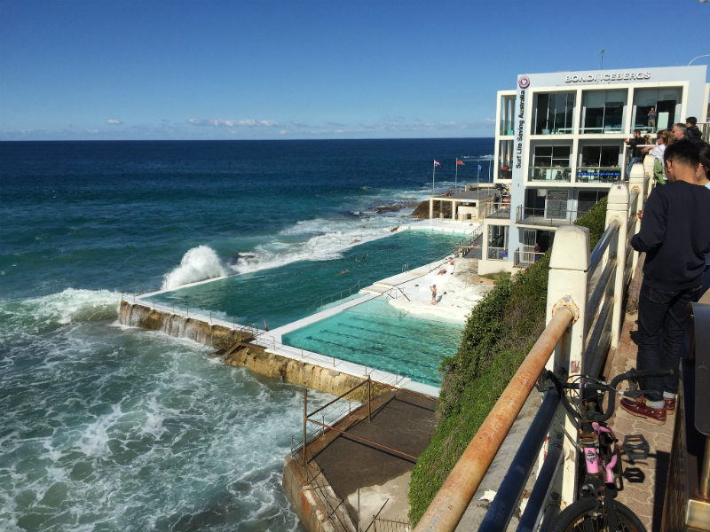 best things in sydney - bondi beach restaurant and pool