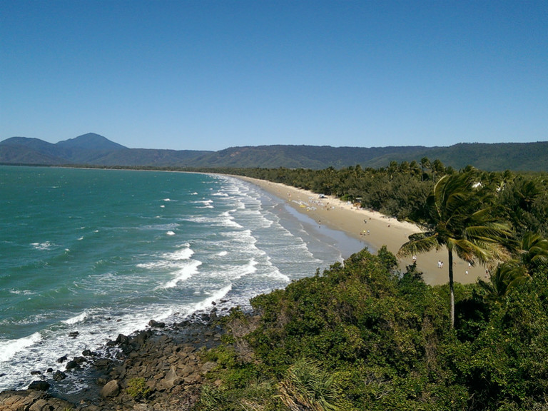port douglas beach view