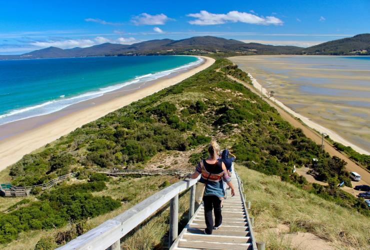 travel facts tasmania with bruny island