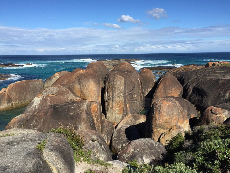 Elephant Rocks on the way from Margaret River to Denmark.