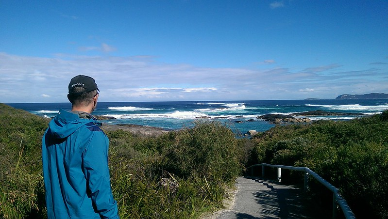 Travelling Scotsdale Scenic Drive through Williams Bay National Park.